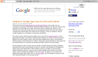 Google Apps Sync for Microsoft Outlookを更新!