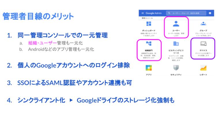 Google Workspace ユーザーの Chromebook 導入メリット04