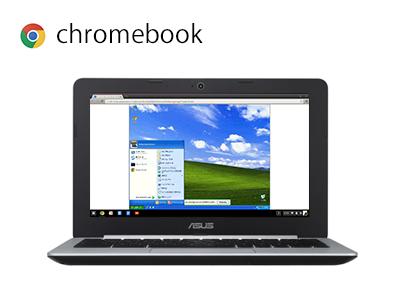chromebook 仮想化