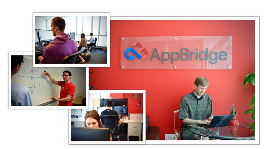 AppBridgeカナダ本社の社内風景写真
